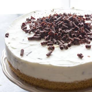 Chocolate Chip Frozen Yogurt Cake.
