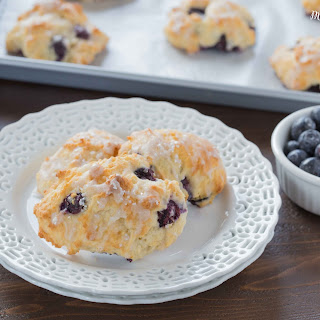 Blueberry Scuffins.