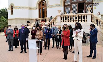 En imágenes: las instituciones celebran el Día de la Mujer en Almería