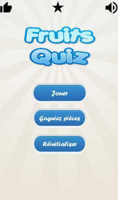 1 Image 1 Mot : Quiz Fruits - screenshot