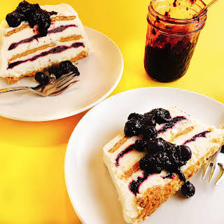 Blueberry-Lemon Icebox Cake.