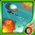 submarine torpedo war 3D icon