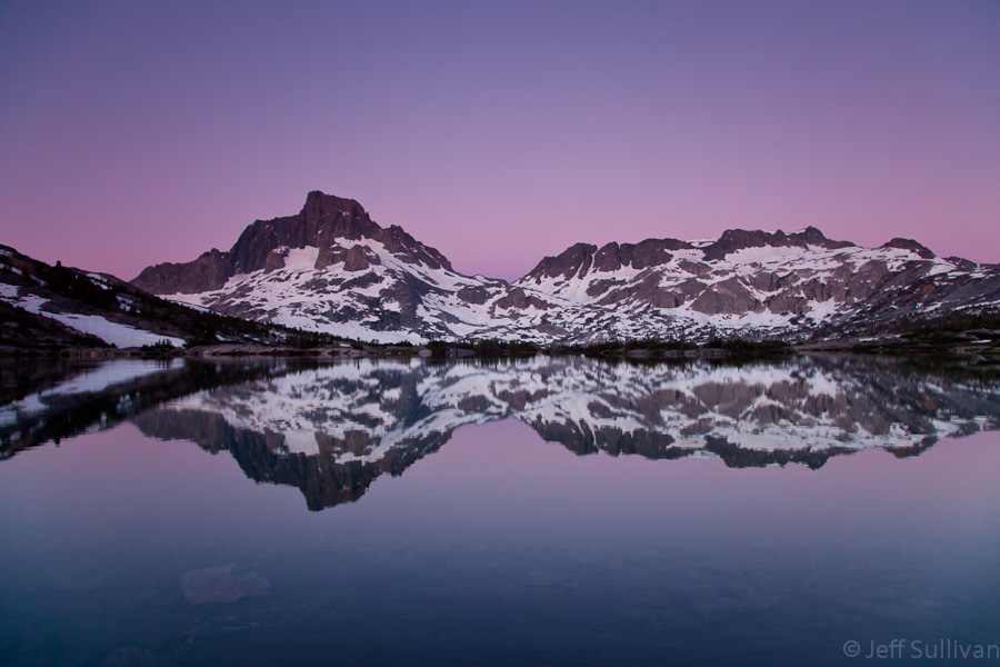 Photo: Sierra Nevada Pre-sunrise Light