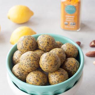 Lemon Chia Protein Cake Bites Recipe