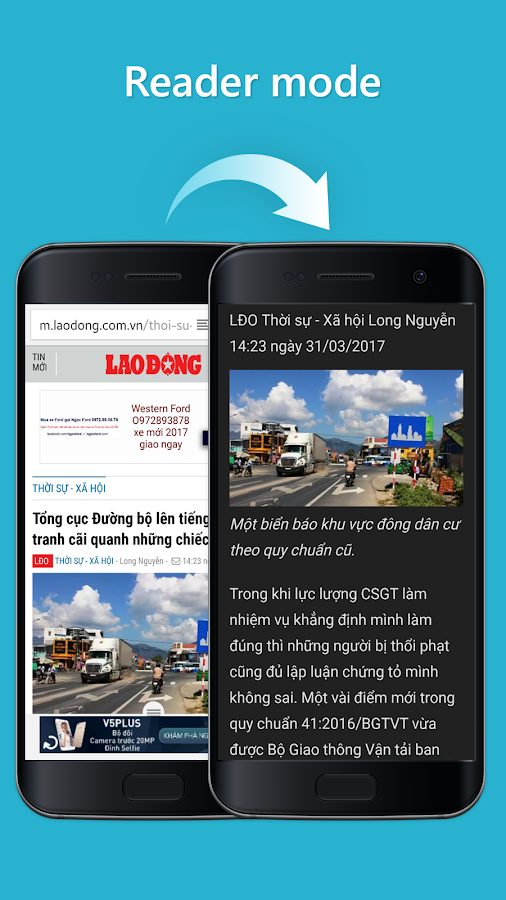 Cốc Cốc Browser- screenshot