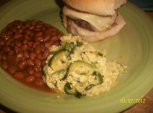 Squash & Eggs Recipe