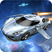 Flying Space Car Simulator 3D