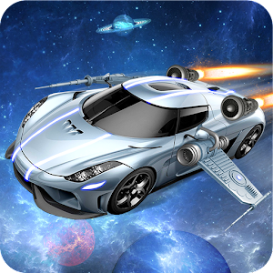 Flying Space Car Simulator 3D for PC and MAC