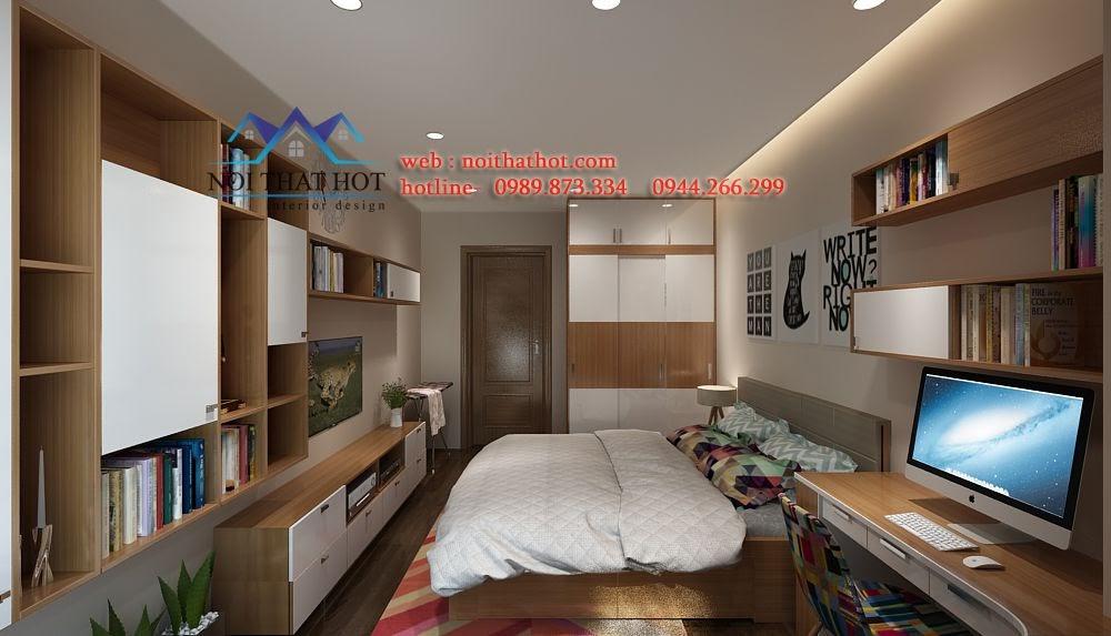 thiết kế phòng ngủ sang trọng