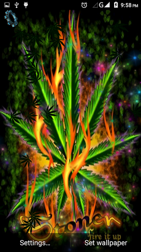 Falling Leaves Live Wallpaper Apps Android Download Weed Marijuana Live Wallpaper Google Play