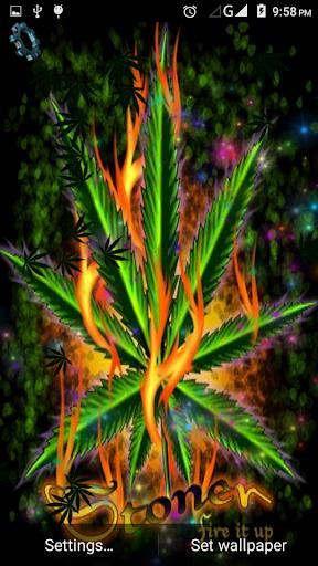 Falling Weed Wallpaper Download Weed Marijuana Live Wallpaper Google Play