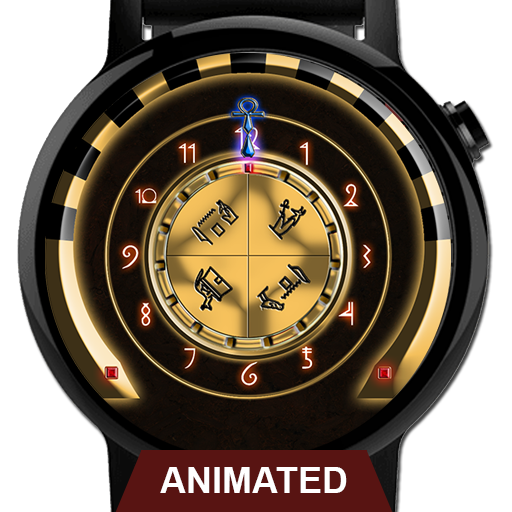 Watch Face: Chamber of Anubis - Wear OS SMartwatch APK Cracked Download