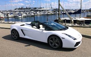 Lamborghini Gallardo Spyder Rent Midtjylland