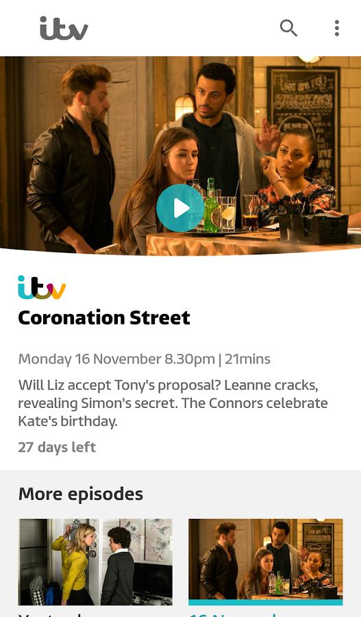 ITV Hub- screenshot