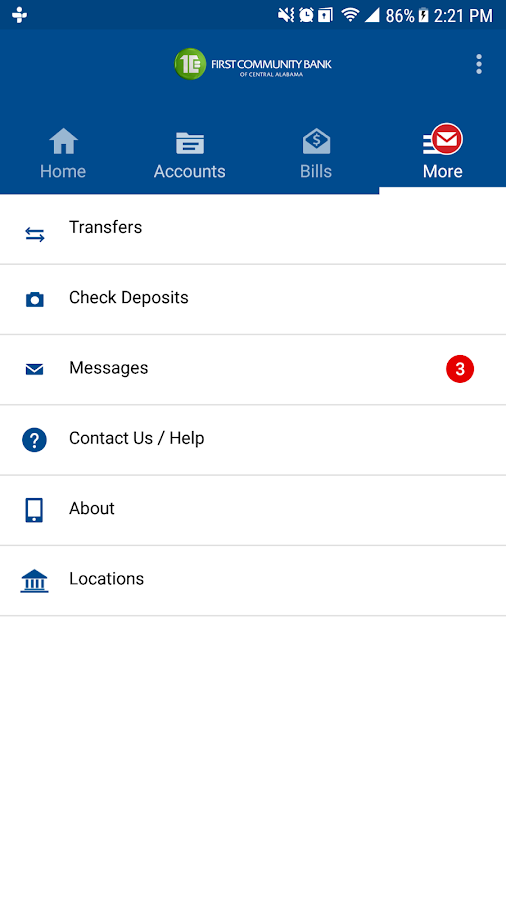 FCBCA Mobile Banking- screenshot