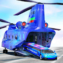 US Police Transport Car Games icon