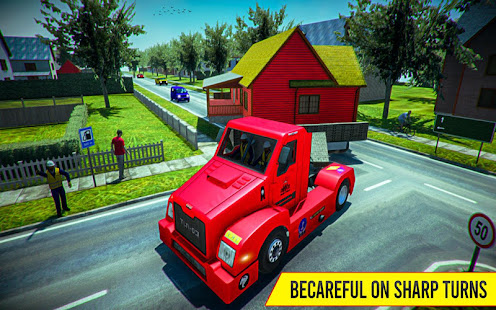 Download House Mover Job: House Transport Truck Driver 2019 For PC Windows and Mac apk screenshot 5