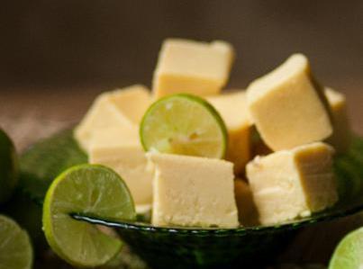 Grace's  Key Lime Fudge Recipe