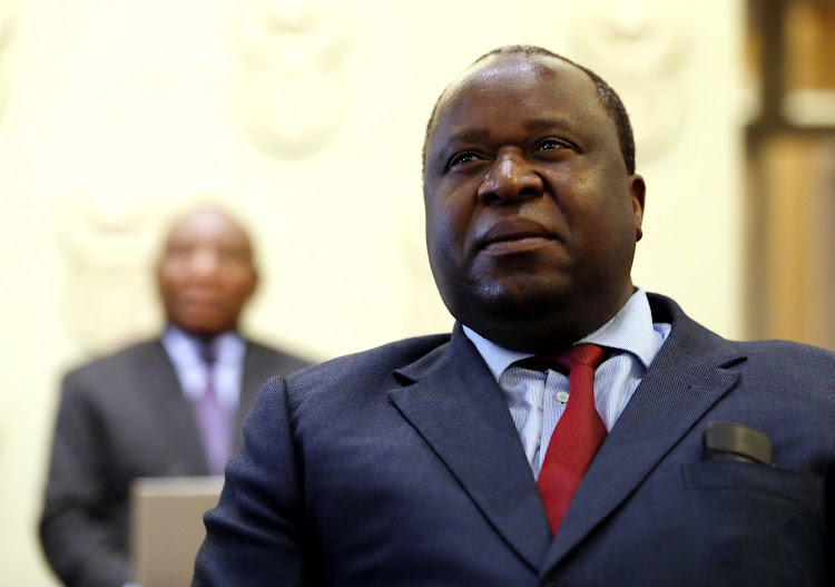 Mboweni replaced Nhlanhla Nene as finance minister.