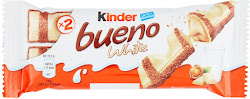 Kinder Bueno White Chocolate Bar - 2 x 19.5g