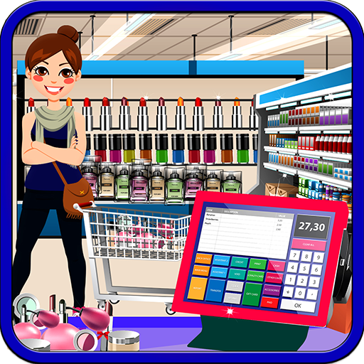 Cosmetic Business Shop: Makeup Store Cashier Game (game)