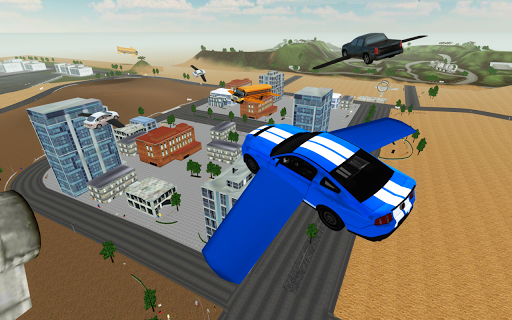 Flying Car Driving Simulator 1.04 Cheat screenshots 1