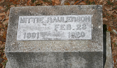 Photo: Mittie Raulerson / Daughter of William M Rhoden and America Arnold / Wife of Jacob Raulerson 1884 - 1907