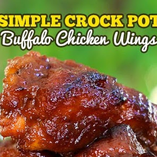 Buffalo Chicken Wing Sauce Crock Pot Recipes