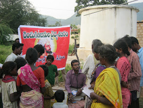 Photo: A busy medical Camp at Chenchukunta village on 28th Oct 2012