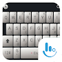 Simple White Black Keyboard