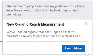 Facebook修改Organic Reach計算方法