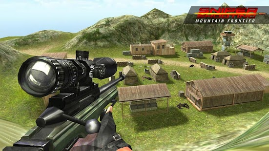 Sniper Shooting Mountain Frontier FPS - náhled