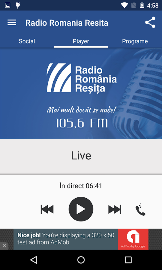 Radio Romania Resita- screenshot