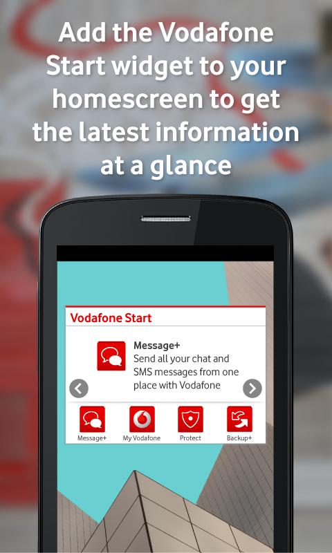 Vodafone Start- screenshot