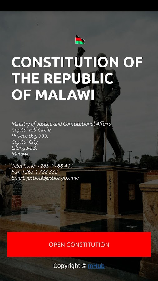 Constitution Of Malawi- screenshot