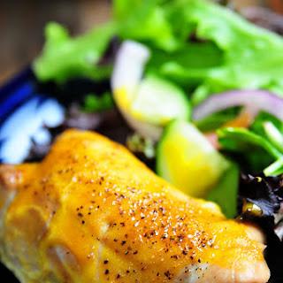 Honey Mustard Chicken Thighs Recipe