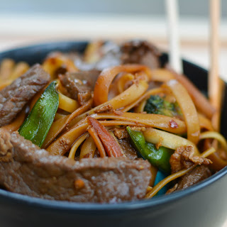 Spicy Beef and Dragon Noodles