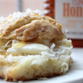 Coconut Brie Brunch Biscuits