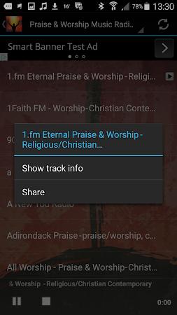 Praise & Worship Music Radio 1.0 screenshot 258699
