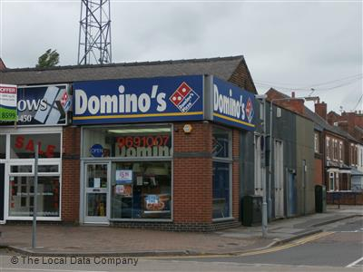 Dominos Pizza On Plains Road Pizza Takeaway In Mapperley