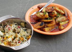 Photo: Ziemniaki smażone z sosem (24)