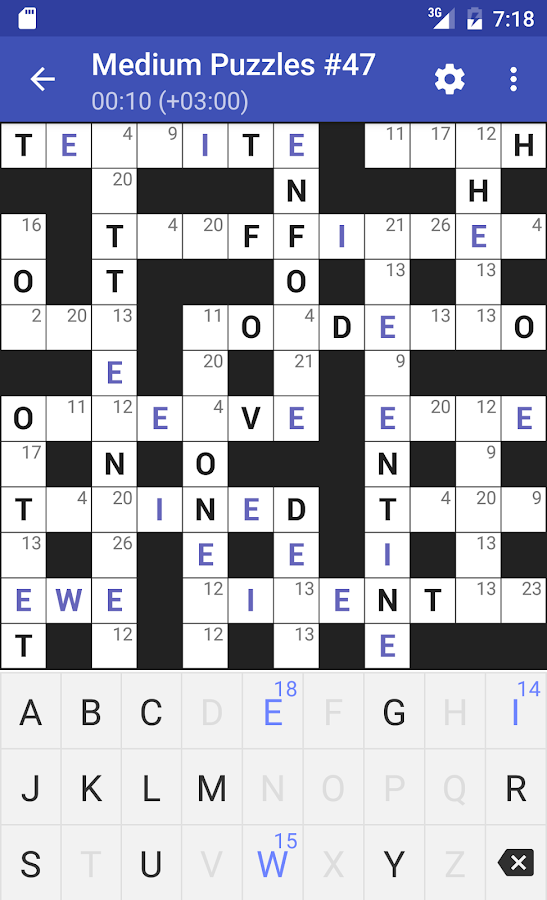 Codeword Puzzles (Crosswords)- screenshot