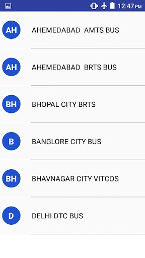 All India BRTS & City Bus Indicator for PC