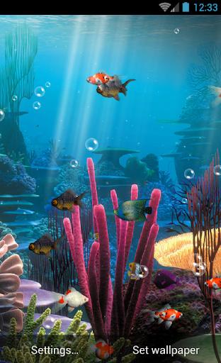 Aquarium Live Wallpaper Free  screenshots 2