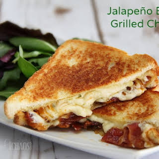 Jalapeño Bacon Grilled Cheese Sandwich.