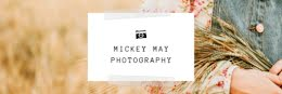 Mickey May Field - Email Header item