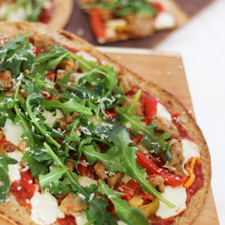 Spicy Sausage & Pepper Low Carb Pizza