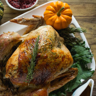 Thanksgiving Classic – Rosemary Roasted Turkey