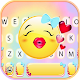 Lovely Kiss Emoji Keyboard Theme APK