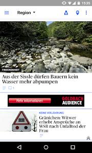 az Aargauer Zeitung News screenshot 1
